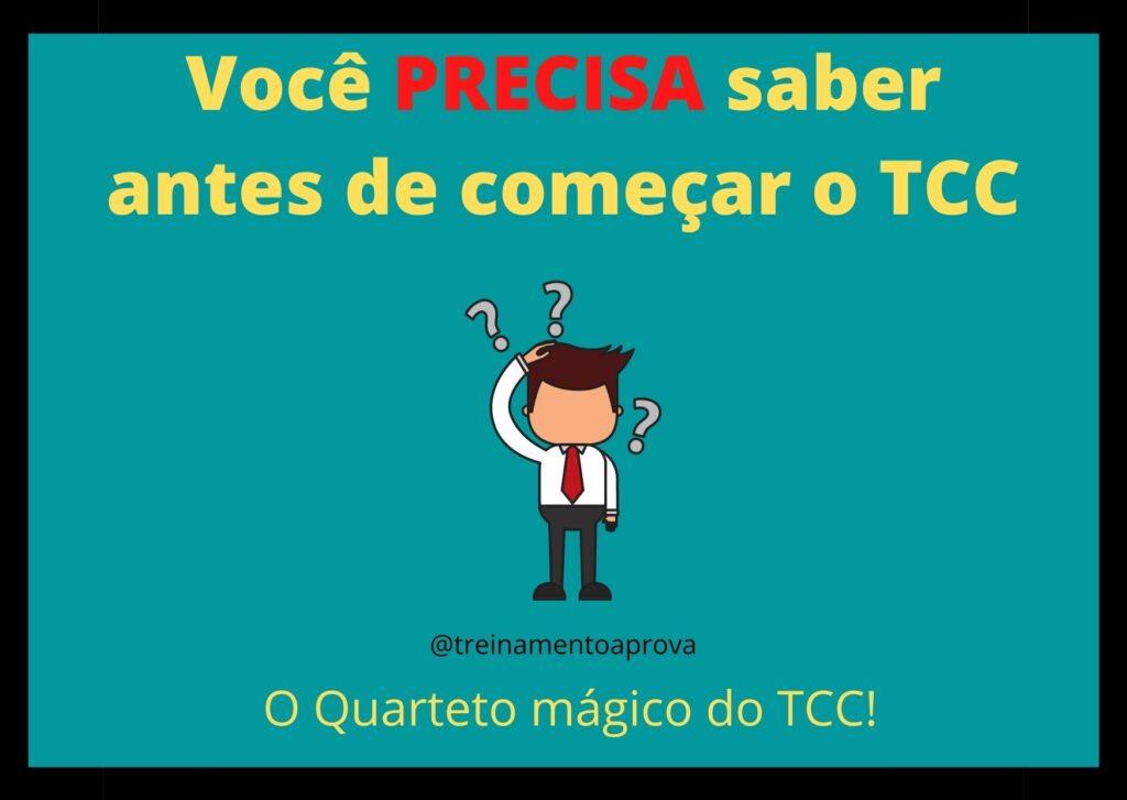 como começar o TCC